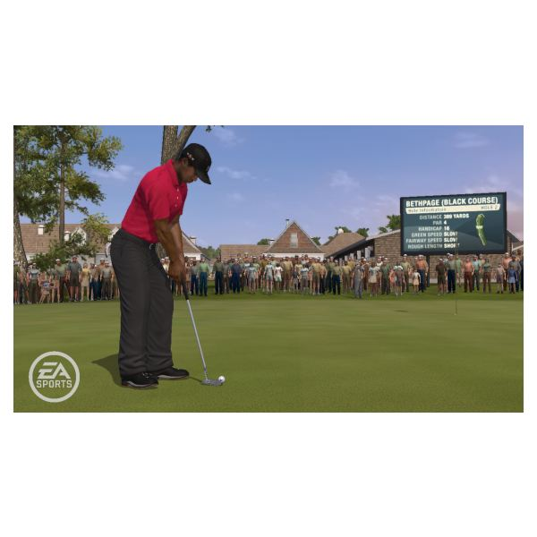 Tiger Woods PGA Tour 10 for the Wii game console