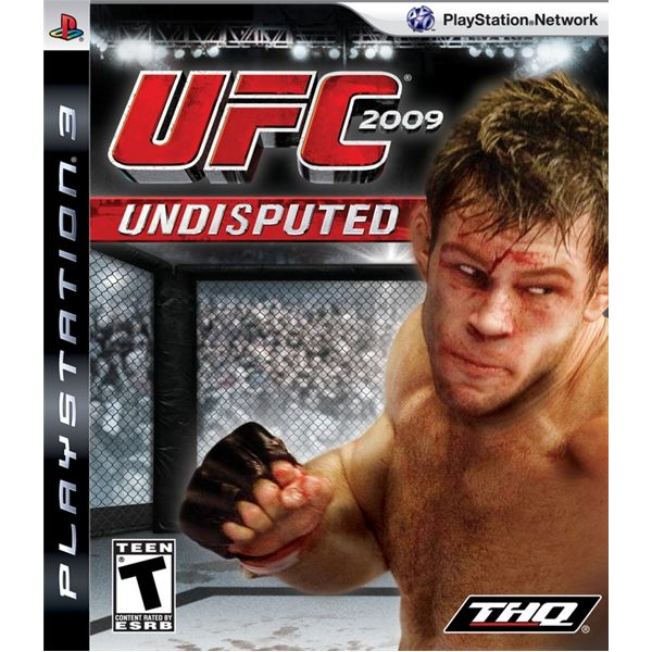 UFC 2009 Undisputed for the Playstation 3