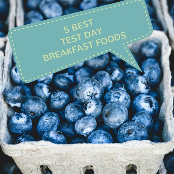 Top 5 Test-Day Breakfast Foods for Increased Brain Power