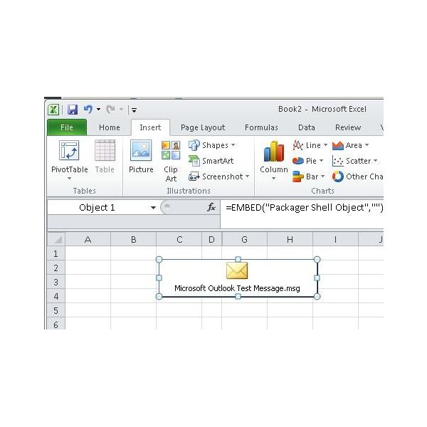 how to open an outlook template - learn how to insert outlook email in excel