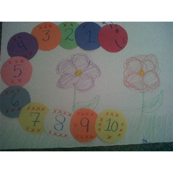 preschool numbers craft