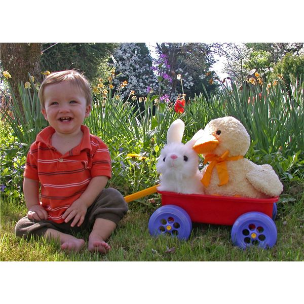 Activities for 1 Year Olds: Large and Small Motor Skills