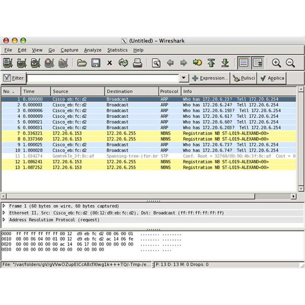 Wireshark - An Example Of Great Open Source Software For The Mac OS X Snow Leopard Server