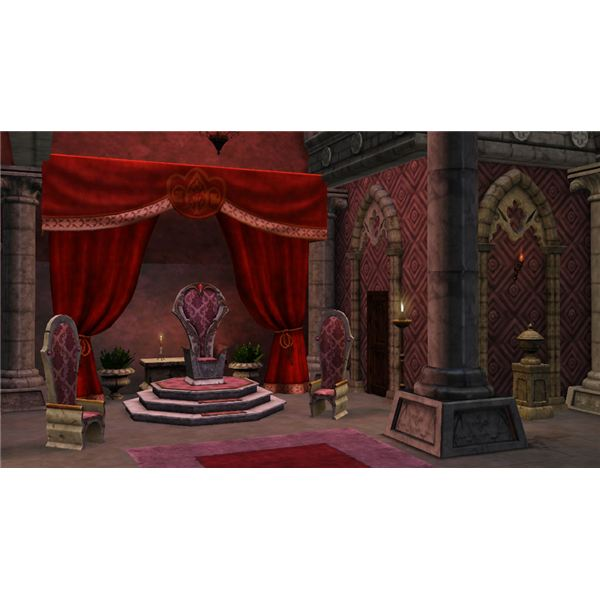 The Sims Medieval Limited Edition Princess Throne
