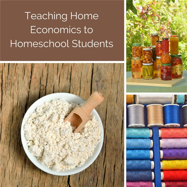 Teaching Home Economics to Homeschool Students