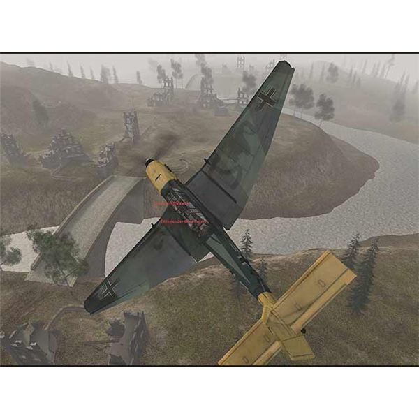 Flying a WWII plane