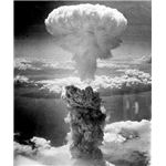 World War II in Japan ended with the atomic bomb