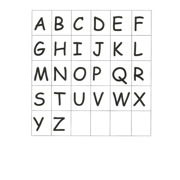 photograph relating to Alphabet Book Printable named Generating Preschool Alphabet Guides- Instructions for Developing an