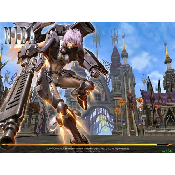 NIDA Online Free-To-Play MMORPG Review
