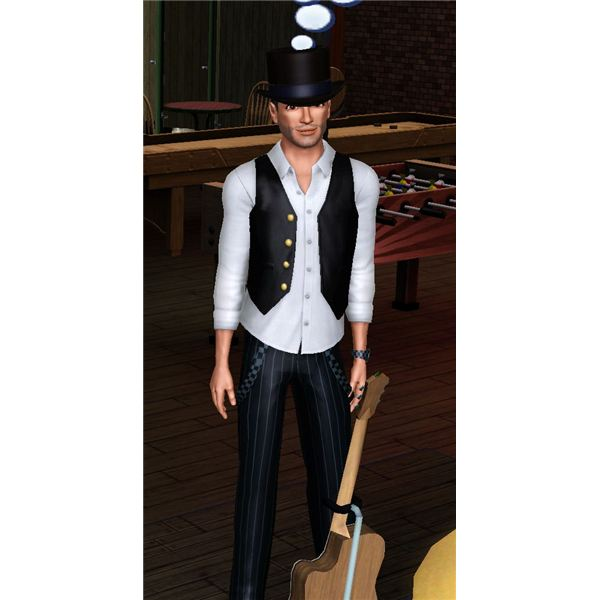 The Sims 3 bachelor outfit