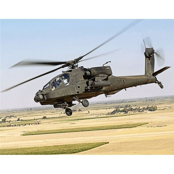 Identification of Military Airplanes--The AH-64D Apache Longbow