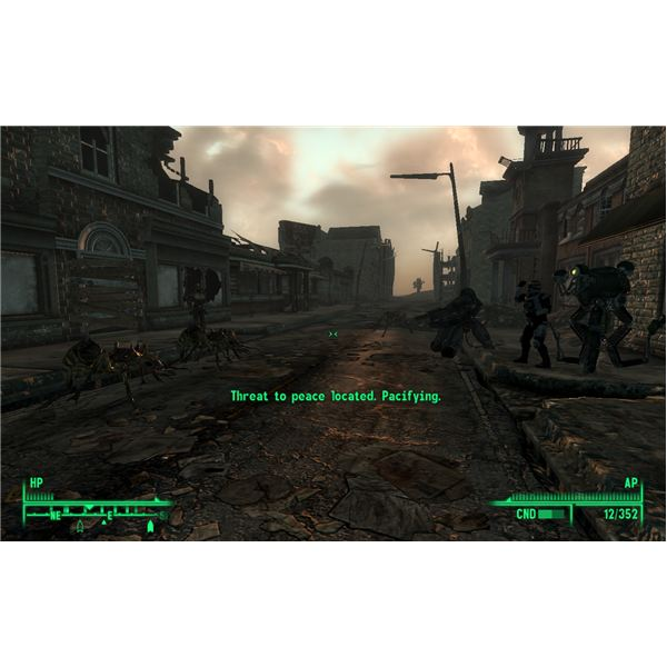 Fallout 3 Walkthrough - The Superhuman Gambit - Fighting the AntAgonizer
