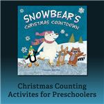 Snowbear teaches preschoolers how to count.