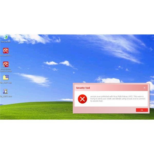 AntiVir Scanner is Blocked by Security Tool virus