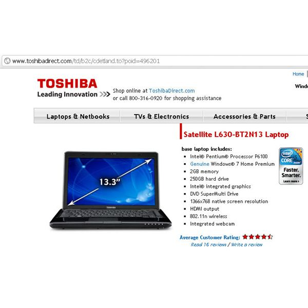 Find Toshiba 13 Inch Laptop Computers to Fit Your Briefcase and Life