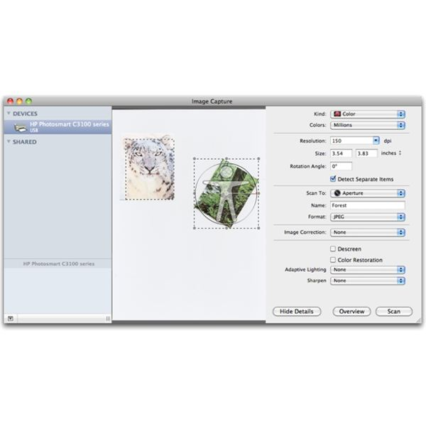 The Best Free Mac OS X Scanner Software - Image Capture Advanced Options