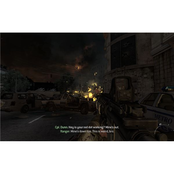 Call of Duty: Modern Warfare 2 - Second Sun - The Aftermath of the Nuke