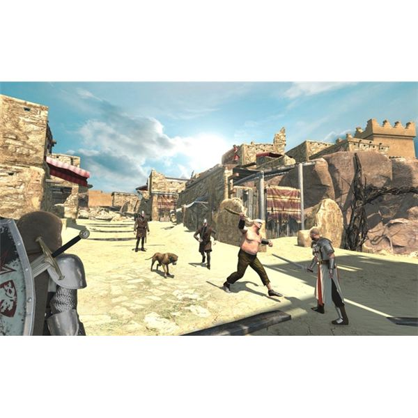 You engage in combat against other soldiers, but you also have to face fierce beasts and even packs of aggressive dogs.