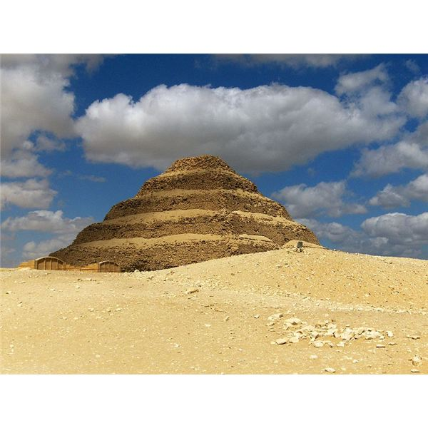 Pyramid of Djoser - One of the First Pyramids
