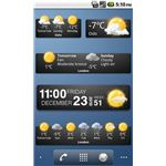 Weather Widgets Android App