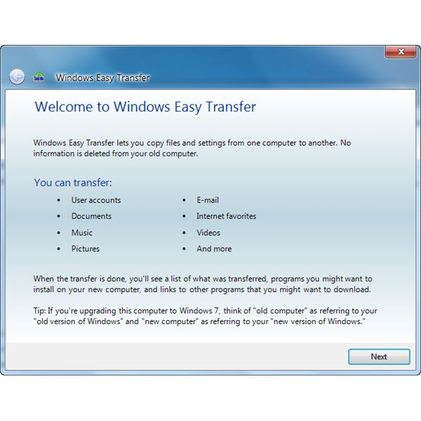 Windows Easy Transfer can be use to transfer vista backup files in Windows 7