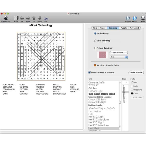 Crossword Forge: Word Search