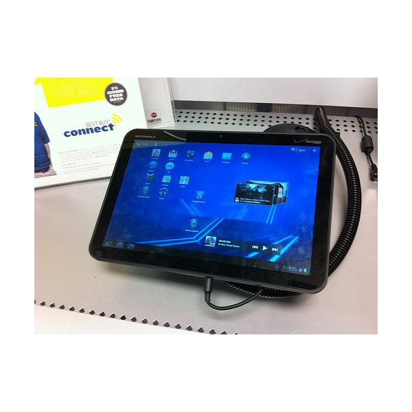 Motorola Xoom - Android tablet with gps