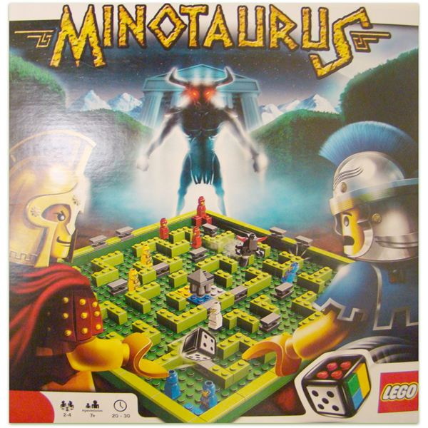 LEGO Minotaurus Board Game Review