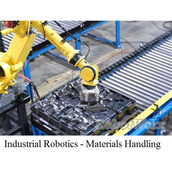 Robotics Technology Developments with emphasis on Industrial Robots