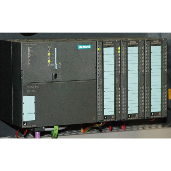 The Siemens S7300 controller attacked by Stuxnet