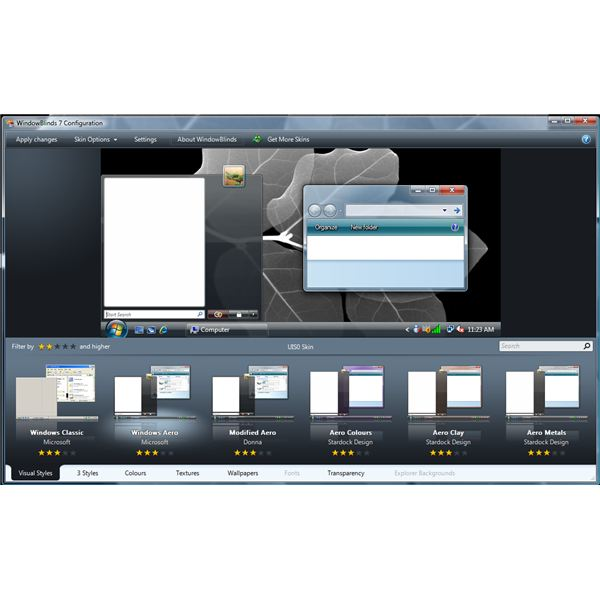 Windows Xp Theme File Software: Free WindowBlinds Themes For Vista And Windows 7