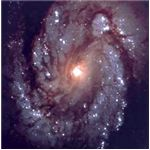 This galaxy, photographed by NASA, is said to resemble our home galaxy The Milky Way.
