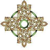 Cari Buziak celtic cross glyph