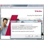 McAfee PreInstall Tool: My McAfee software wont let me go to mcafee website