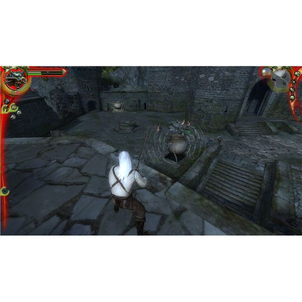 The Witcher - Making the 2 Cauldrons Ring Along with the Bell Makes This Battle a Piece of Cake