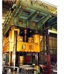 an industrial hydraulic press