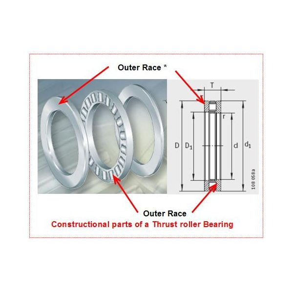 Thrust Roller Bearing Construction