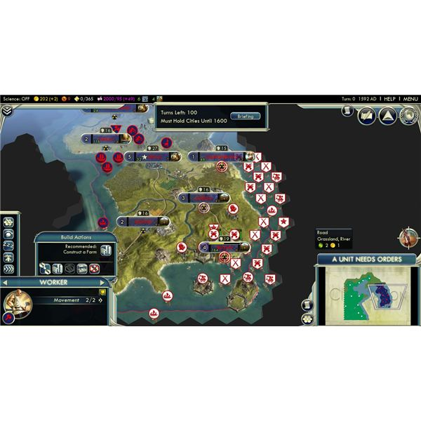 civilization 5 how to play defensively
