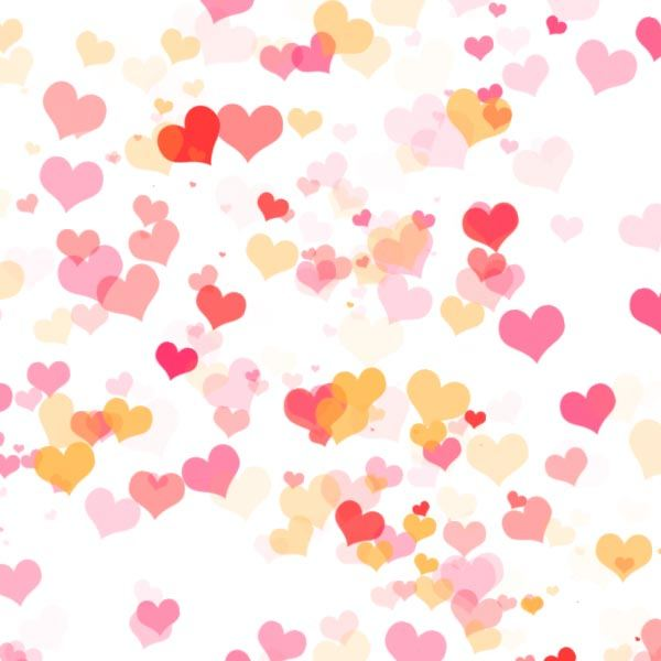 Heart Effect using the heart brush created with this tutorial