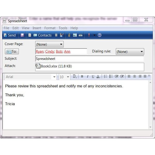 How to fax from Windows 7: Sending Faxes