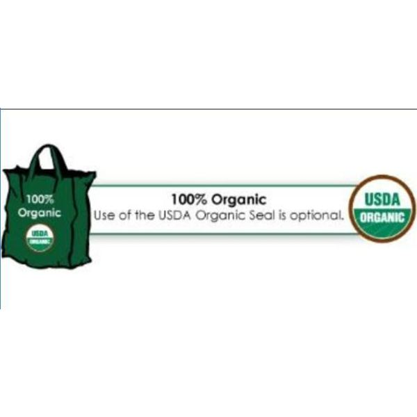 100 % USDA Organic Label