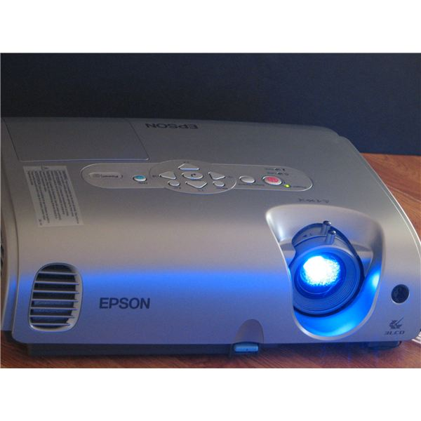 Video projector.