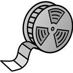 534px-Film reel.svg