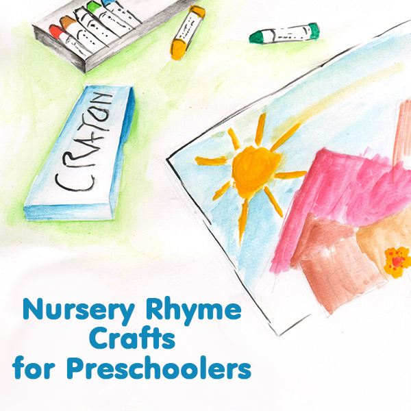 5 Nursery Rhyme Crafts For Preschoolers Ideas And Activities
