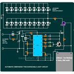Emergency Rechargeable Light, Circuit Diagram, Image