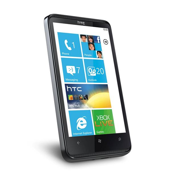 The HTC HD7 is exclusively O2's Windows Phone 7 launch device in the UK