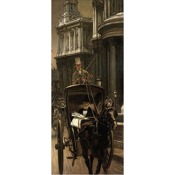 248px-James Tissot - Going to Business
