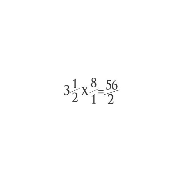 Multiplying Mixed Fractions the Easy Way