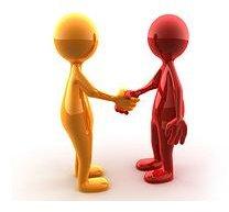 Handshake by Spring Stone