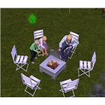 The Sims 3 Firepit 2